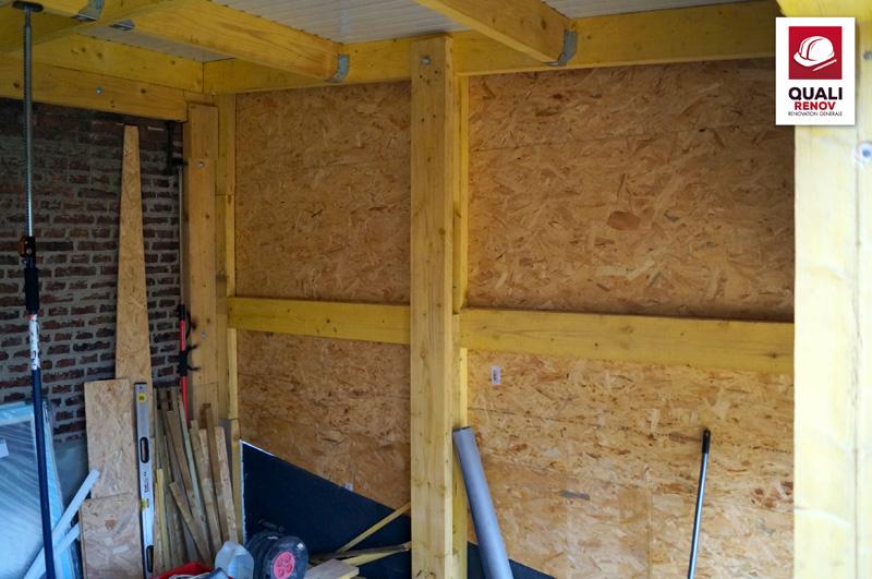 extension ossature bois a trier quali toiture quali. Black Bedroom Furniture Sets. Home Design Ideas