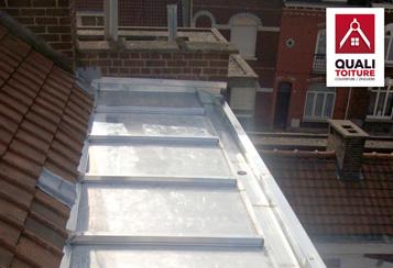quali toiture terrasse zinc villeneuve d ascq nord 59