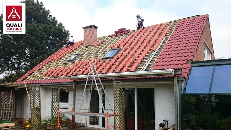 Toiture tuiles koramic quali toiture quali renov for Koramic tuile