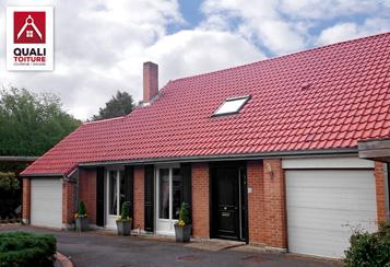 Toiture tuile neuve et ancienne quali toiture quali renov for Koramic tuile