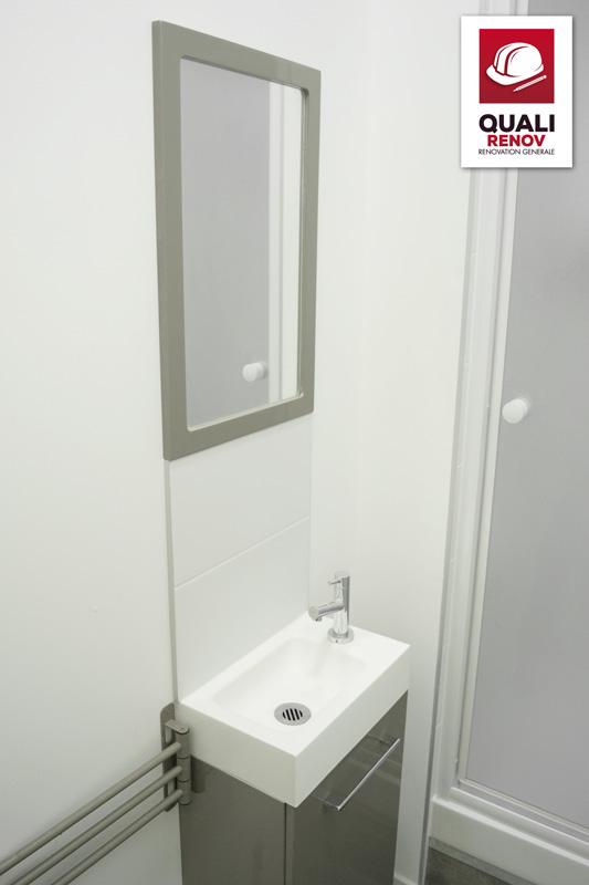 salle de bains quali toiture quali renov. Black Bedroom Furniture Sets. Home Design Ideas