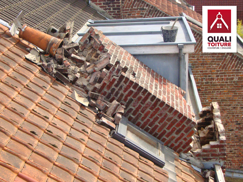 quali toiture couvreur villeneuve d ascq 59 dépannage intervention urgente cheminée