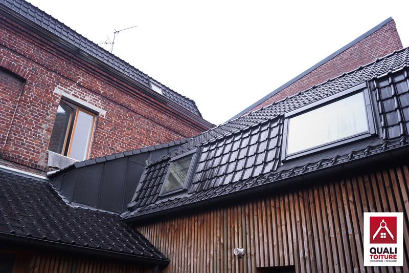 quali toiture villeneuve d ascq 59 gaston baratte toiture neuve