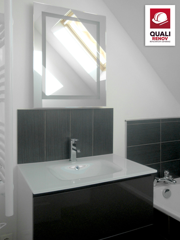 salle de bain anstaing quali toiture quali renov. Black Bedroom Furniture Sets. Home Design Ideas